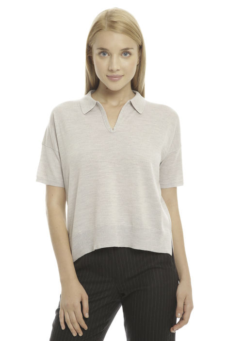 T-shirt in pura lana