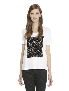 T-shirt con scollo rotondo