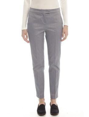 Pantaloni jacquard stretch