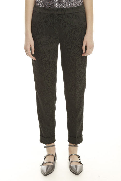 Pantalone broccato jacquard
