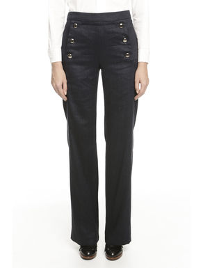 Pantalone effetto denim