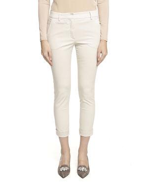 Pantalone in twill di cotone