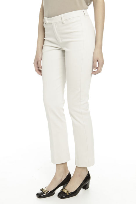 Pantalone in drill di cotone