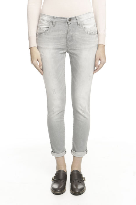 Pantalone in denim stretch