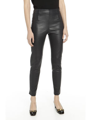 Pantaloni in nappa stretch