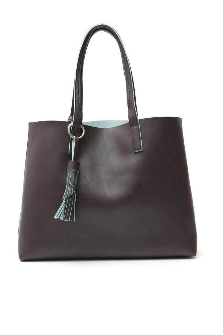 Shopping bag con nappa