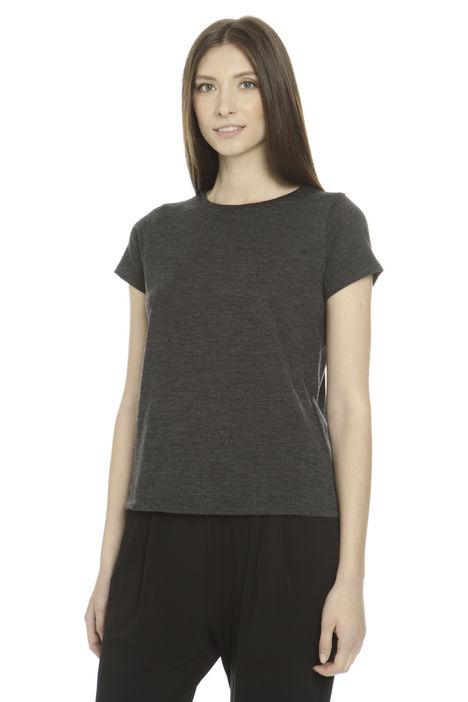T-shirt in jersey di lana