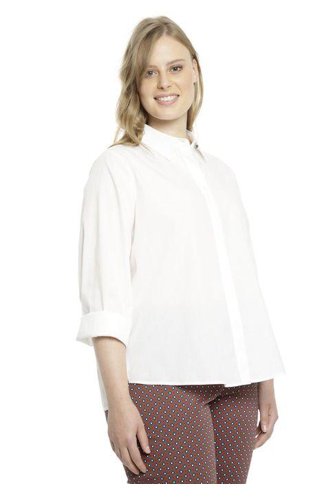 Camicia boxy in cotone