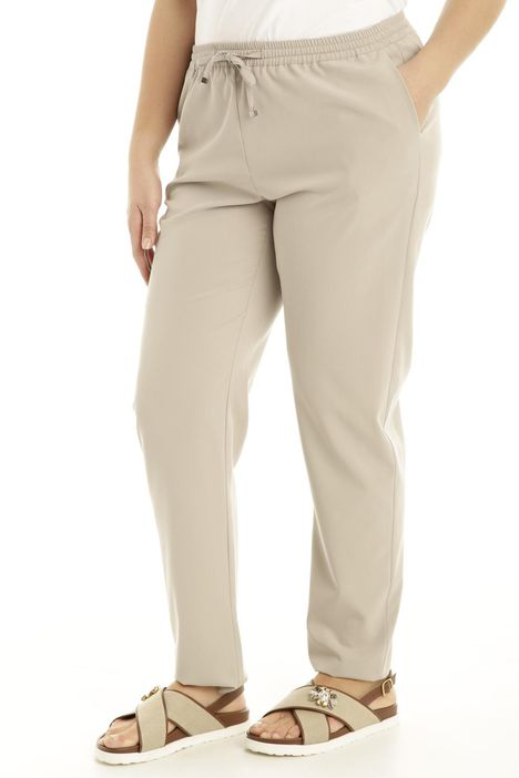 Pantaloni fluidi con coulisse