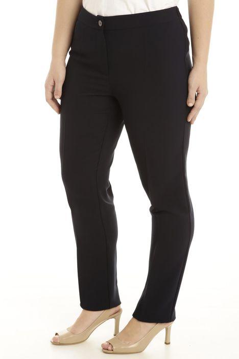Pantalone in tessuto crepe