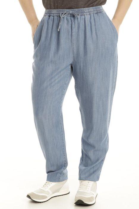 Pantalone in tencel fluido
