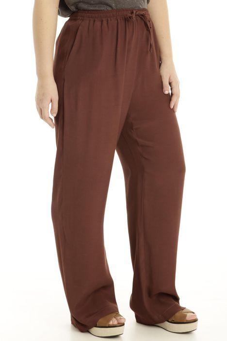 Pantalone in viscosa fluida