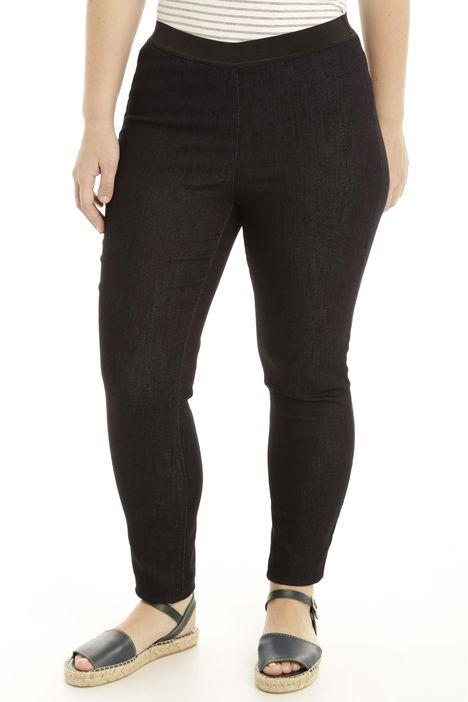 Jeans con cintone elastico