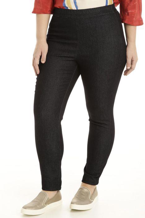 Jeans aderenti con elastico