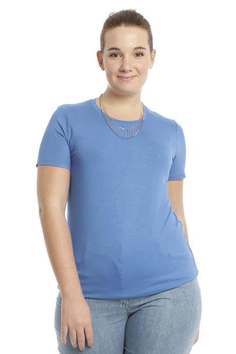 T-shirt basic in viscosa