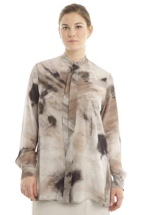 Camicia con nastri annodabili
