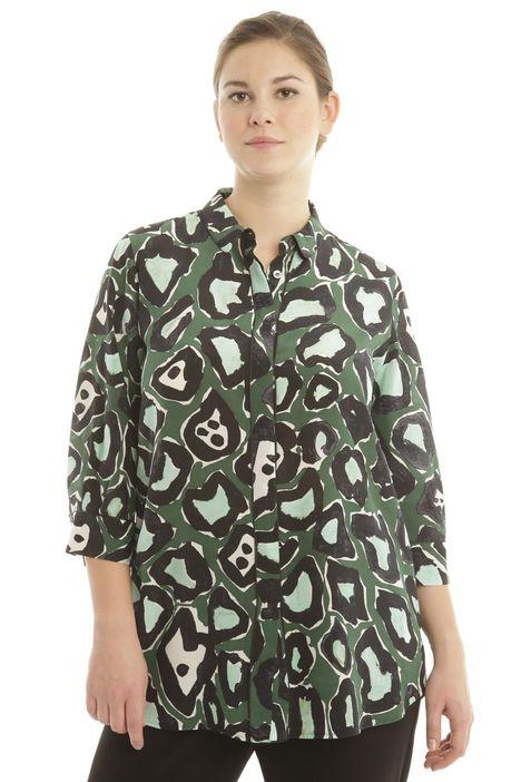 Camicia in crepe di seta
