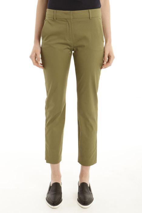 Pantalone in gabardina stretch