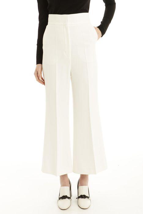 Pantalone cropped in frisottino