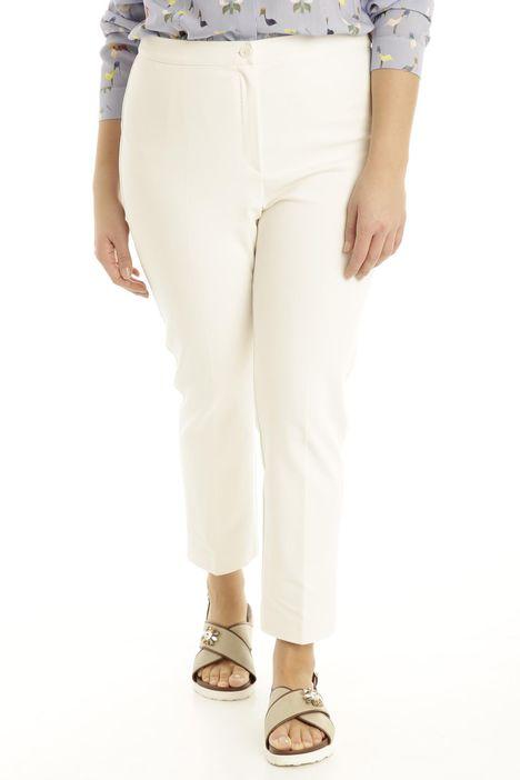 Pantalone in doppio cotone