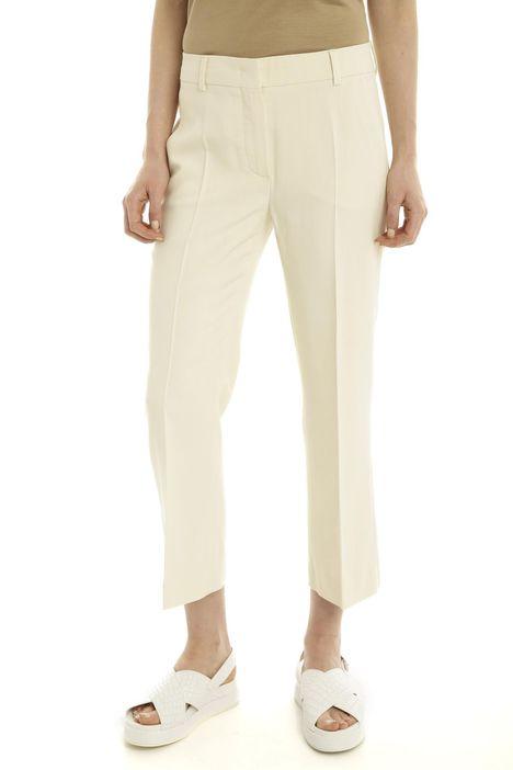 Pantalone in stuoia di cotone