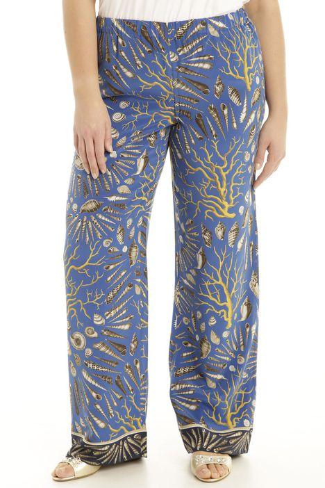Pantalone in crepe de chinbe