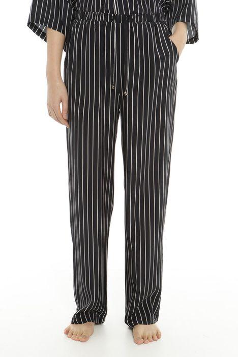 Pantaloni comfort in seta