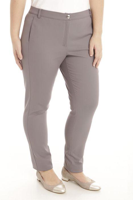 Pantalone skinny in cotone