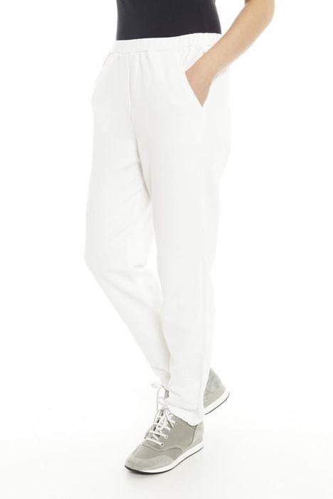 Pantaloni in jersey di cotone