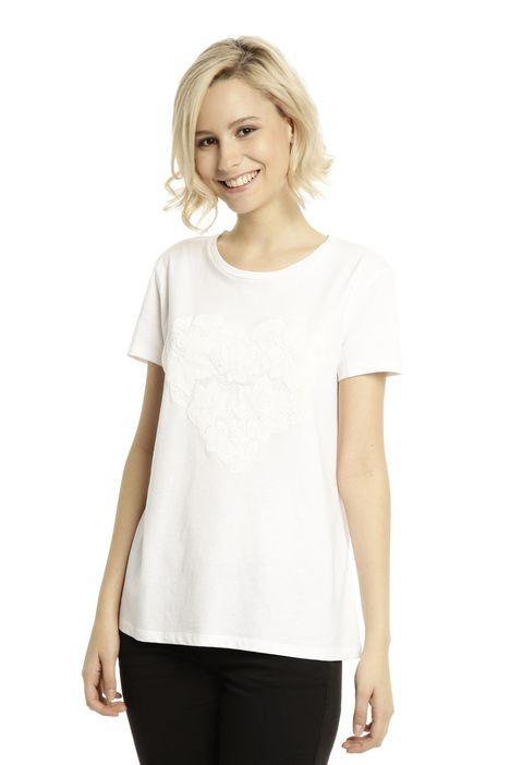 T-shirt semiaderente