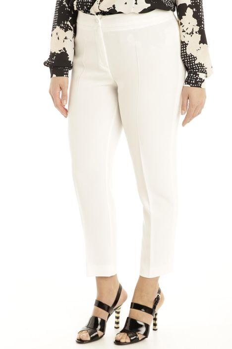 Pantaloni in triacetato fluido