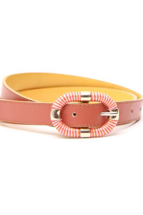 Cintura con fibbia fantasia Diffusione Tessile