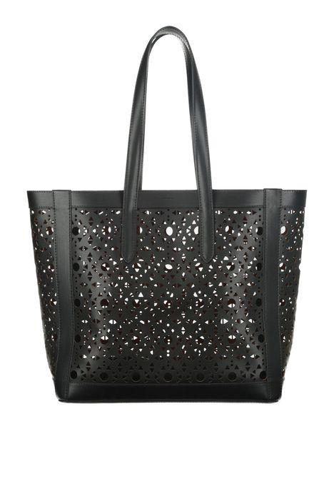 Shopping bag con intagli