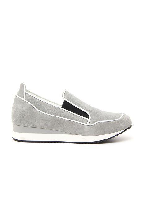 Sneakers effetto bagnato