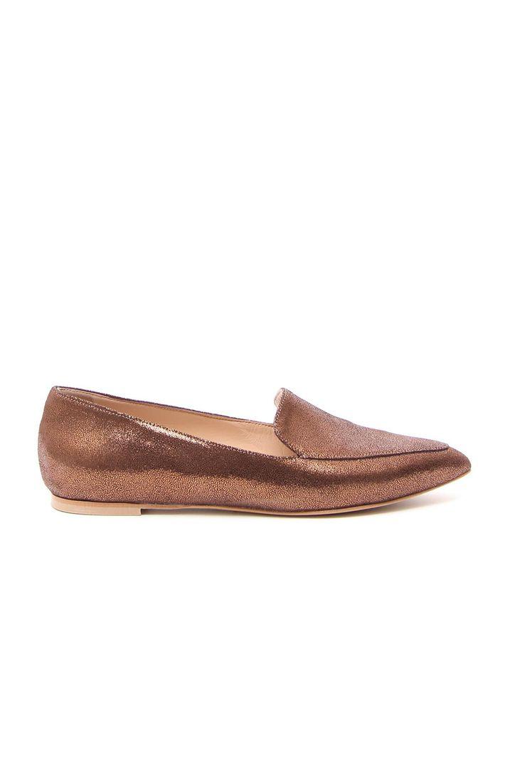 Ballerina efftetto glitter, marrone bronzo
