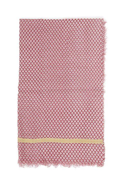 Sciarpa in cotone tinto filo