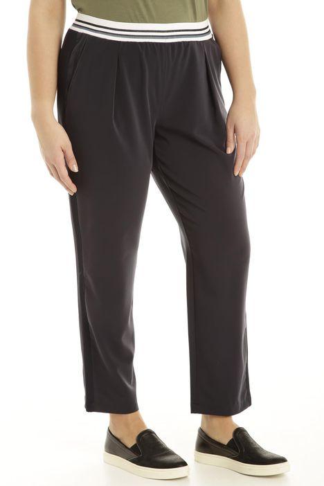 Pantalone in tessuto fluido