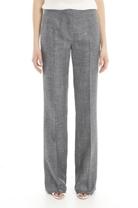 Pantaloni in lino e seta