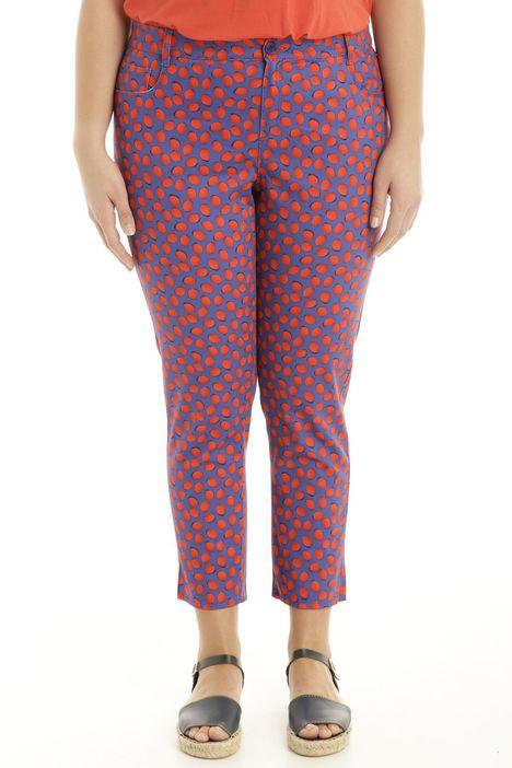 Pantalone in piquet stretch