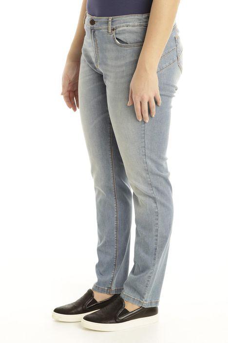 Jeans a sigaretta in denim