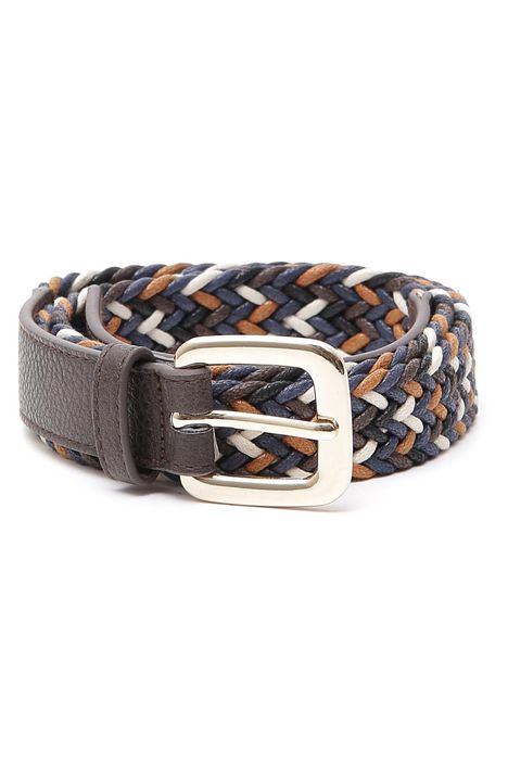 Cintura in corda multicolor