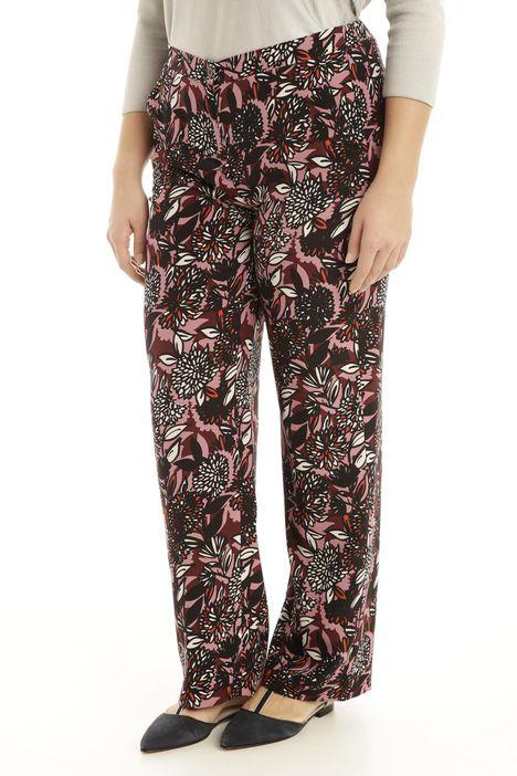 Pantalone comfort stampato