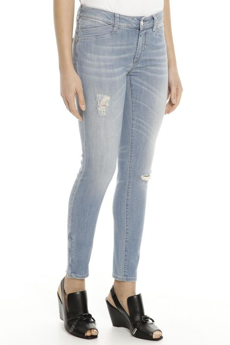 Jeans in denim stretch