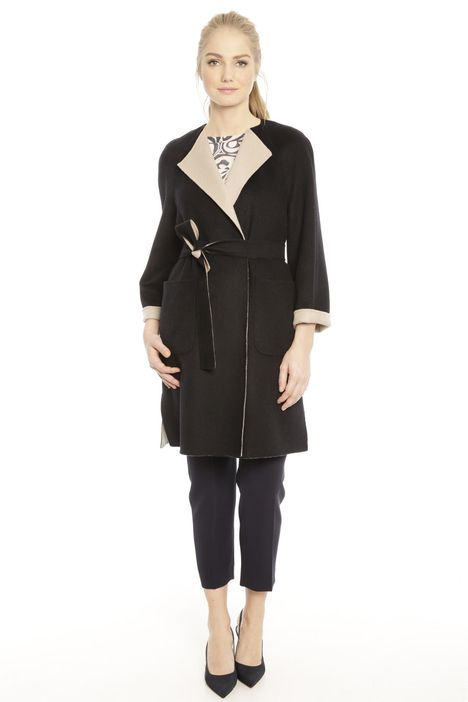 Cappotto double face