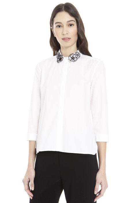 Camicia con colletto decorato Diffusione Tessile