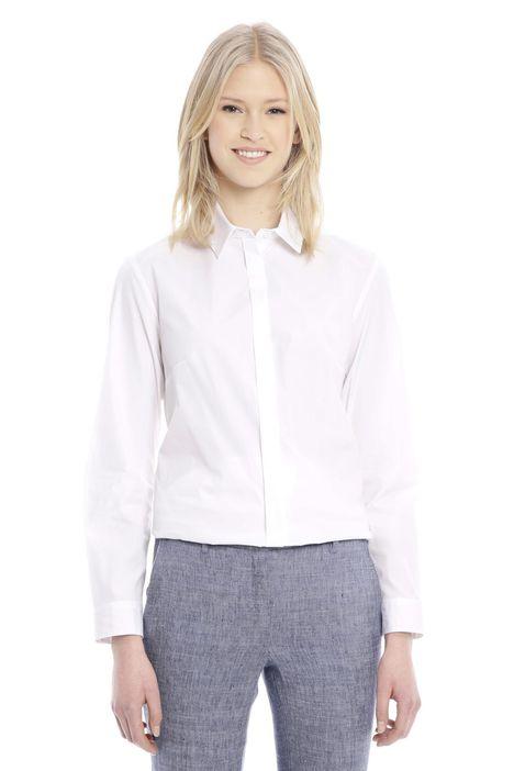 Camicia in popeline di cotone
