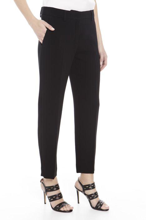 Pantalone in cady con piega