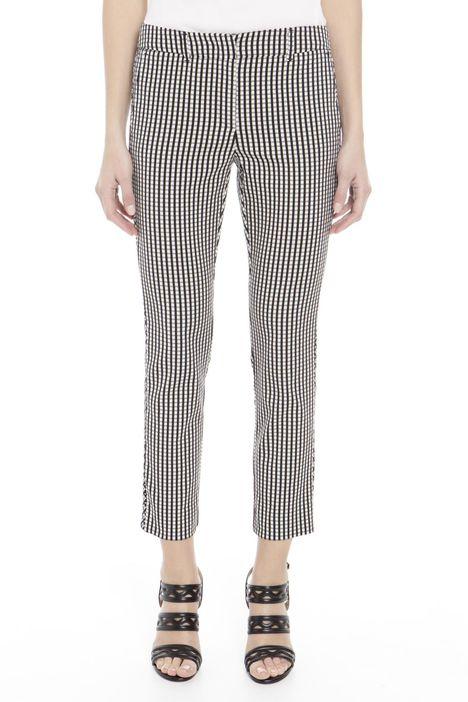 Pantaloni  con doppia fantasia