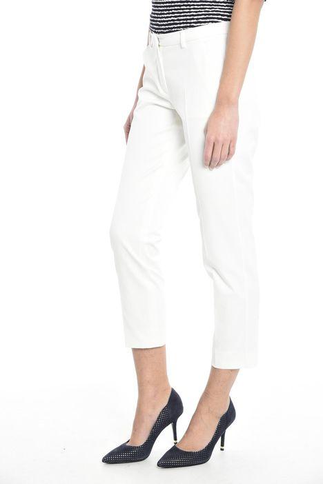 Pantalone in piquet di cotone