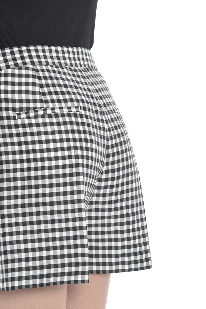 Shorts in tela di ramiè e seta Diffusione Tessile